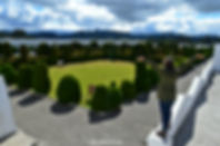 Cementerio de Tulcán en Ecuador