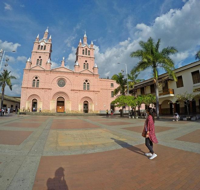 Basílica del Señor de los Milagros en Buga, Valle del Cauca