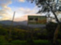 Entrada a Maravillas del Güejar en Lejanías, Meta