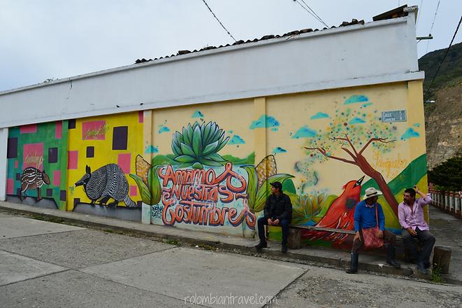murales en panqueba boyaca