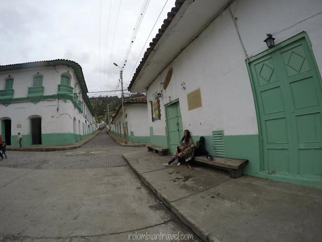calles en el cocuy boyaca