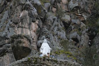 Virgen de las Rocas de Suesca