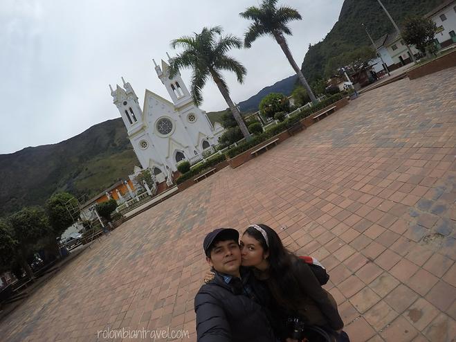 plaza principal de san mateo boyaca
