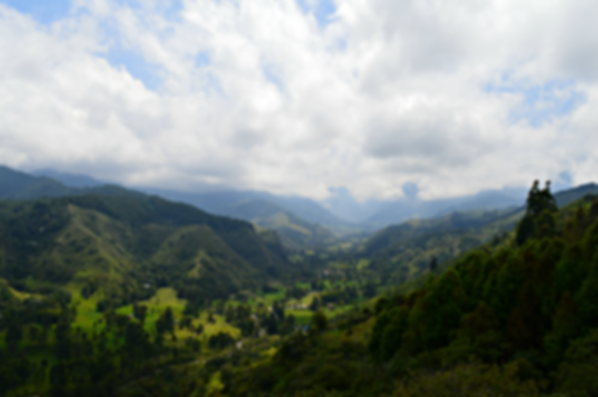 vista del valle del cocora desde el mirador de salento quindio