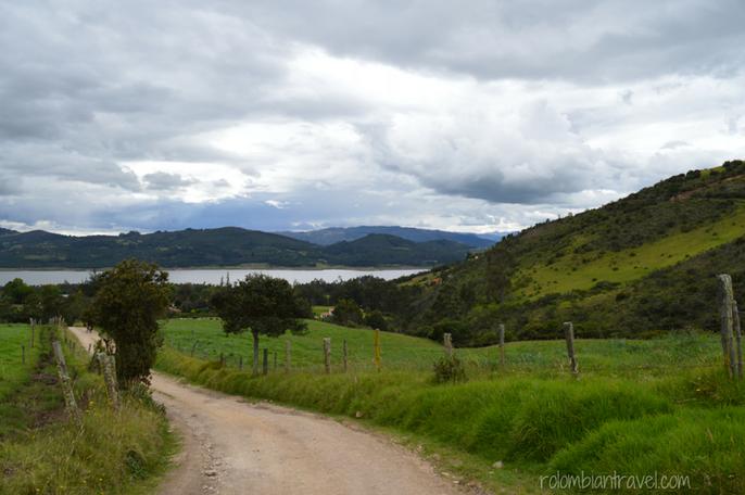 Camino a Laguna de Guatavita