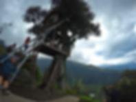 Columpio Fin del Mundo, Casa del Árbol en Baños de Agua Santa, Ecuador
