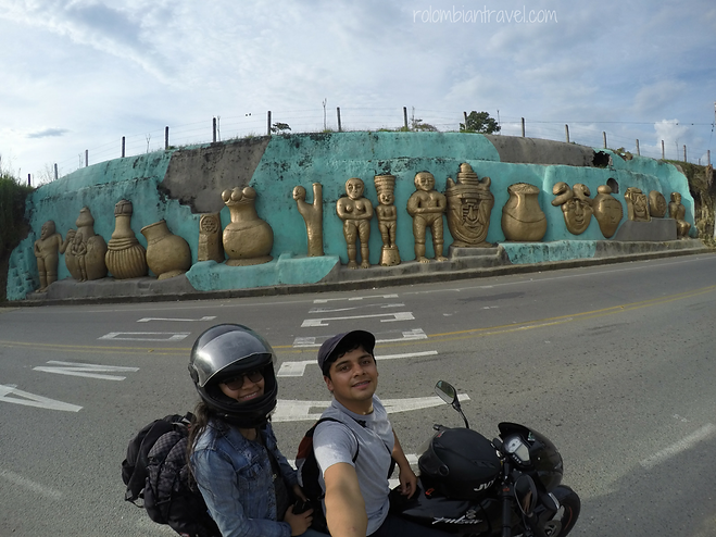 barranquismo - arte tierra en quimbaya quindio