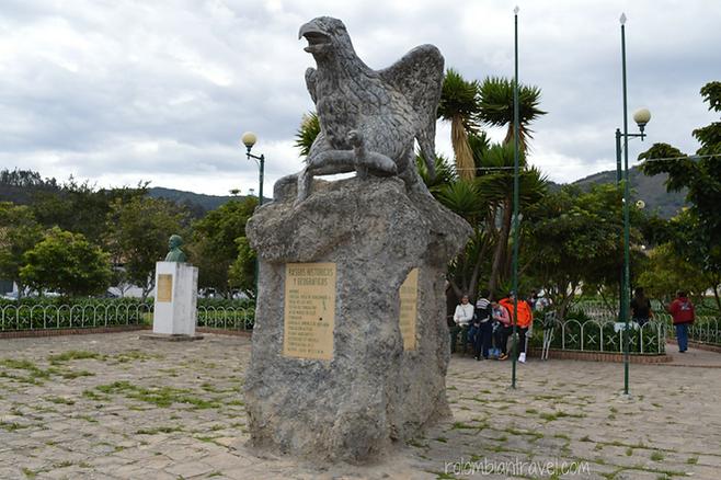 parque principal de suesca cundinamarca