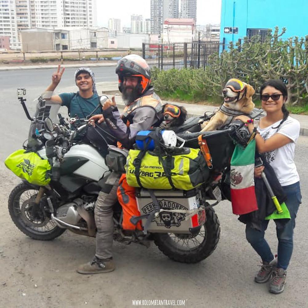 Perrodadores MX junto a Rolombian Travel