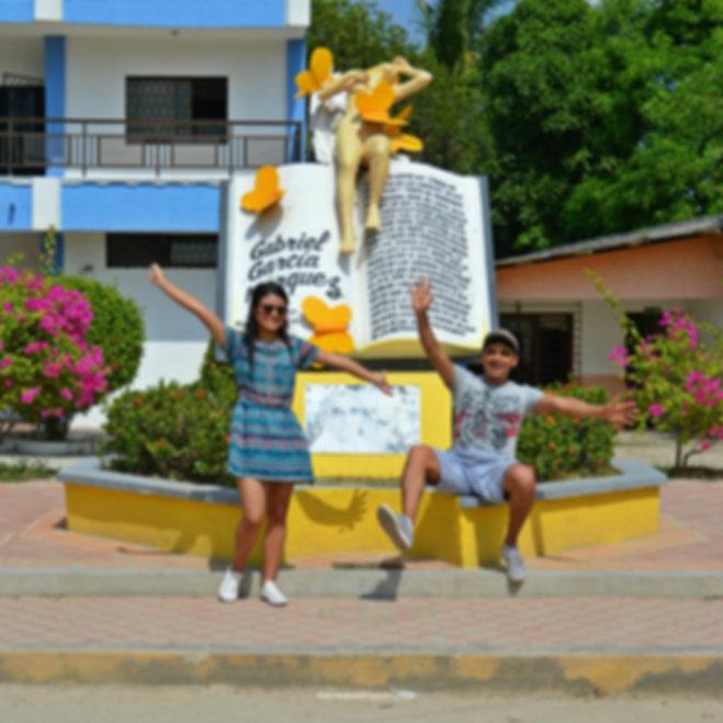 Monumento a Remedios La Bella en Aracataca, Magdalena
