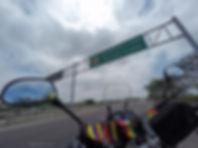 Paso fronterizo Ecuador-Perú en Huaquillas