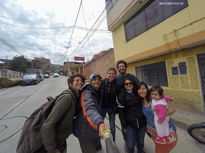 Motoposada en Huaraz, Perú