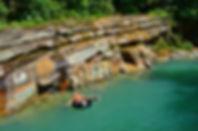 Piscinas naturales en Maravillas del Güejar, Lejanías