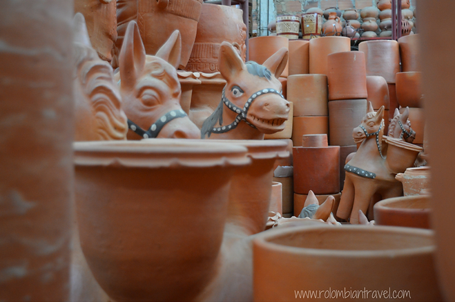 Artesanías en Todo Ráquira, Boyacá