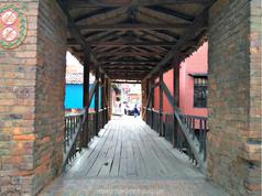 Puente de las Ánimas en Ráquira, Boyacá