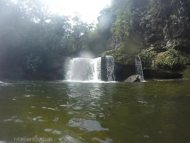 cascadas en el fin del mundo putumayo