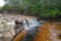 Pozos naturales en San José del Guaviare