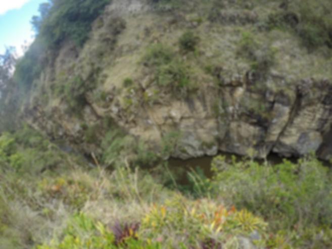 Cañón de La Lechuza en Suesca (Cundinamarca)