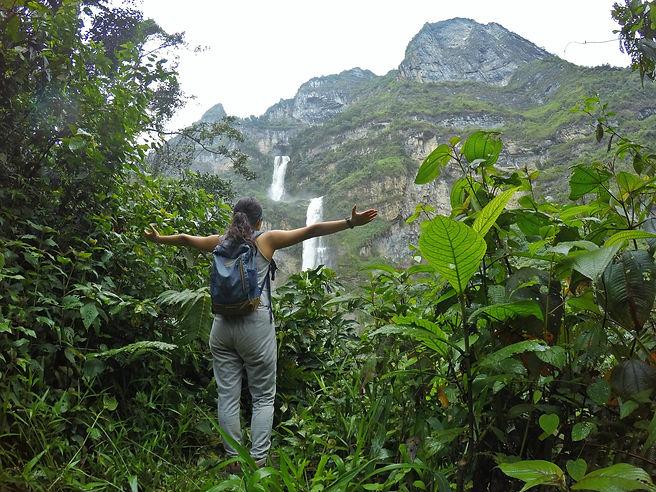 Cascada Ventanas de Tisquizoque en Florián, Santander