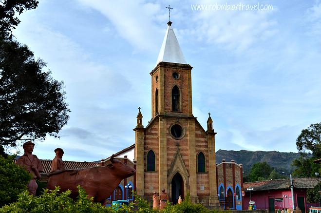 Iglesia San Antonio de Ráquira, Boyacá