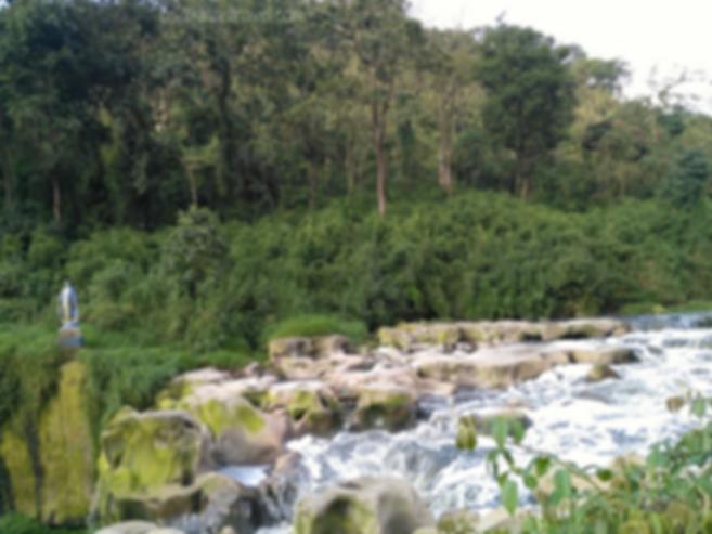 Inicio caída de agua Salto del Tequendama