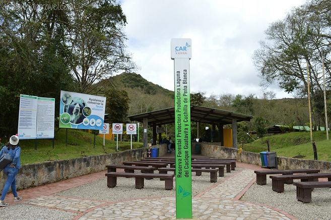entrada laguna de guatavita