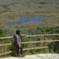 Laguna El Mapa en el Páramo de Guacheneque, nacimiento del río Bogotá