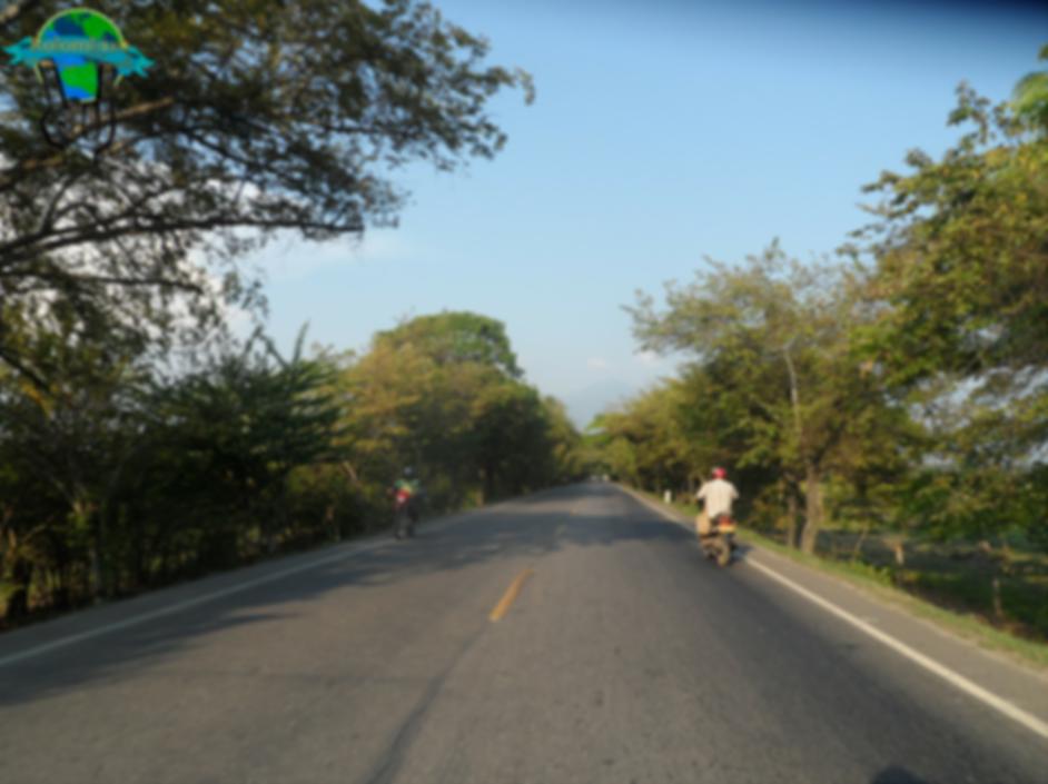 Camino a Santa Marta, Magdalena, Colombia
