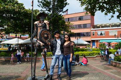 Parque principal Mesitas del Colegio (Cundinamarca)