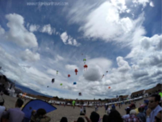 Festival del viento y las cometas en Villa de Leyva, Boyacá