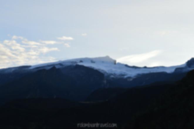 nevado ritacuba blanco el cocuy