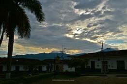Atardecer en Guadalupe, Santander