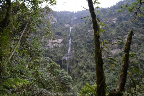 Cascada La Chorrera, Choachí