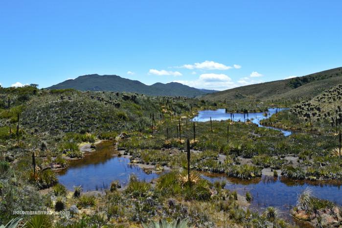 Laguna El Valle, Páramo de Guacheneque, Villapinzón