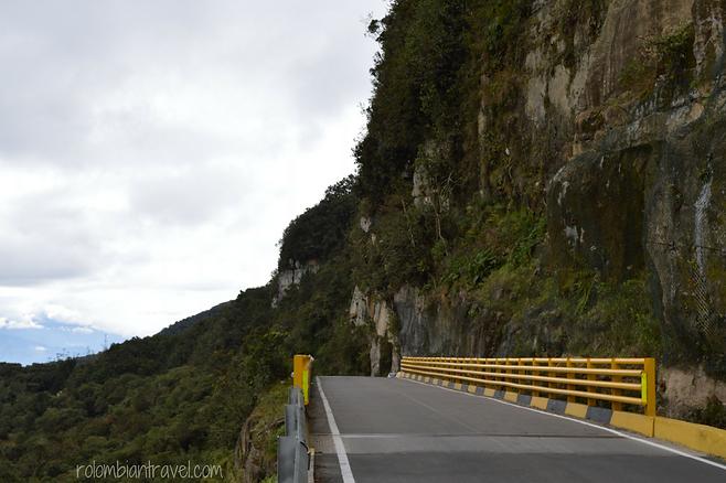 Paisaje vía Bogotá-Choachí