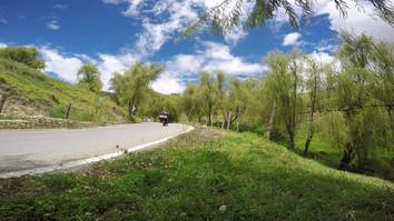 Carretera en Boyacá