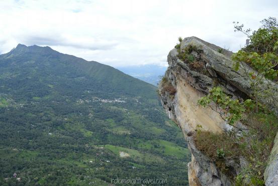 La famosa Cabeza del Indio en el Cerro de Quininí (Cundinamarca)