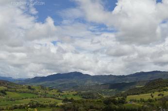 Paisaje alrededores Laguna de Guatavita