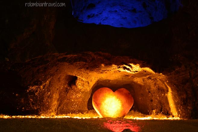 corazon de la mina de sal de nemocon