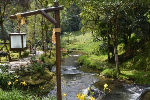 Paisaej en las Termales Santa Rosa de Cabal (Risaralda)