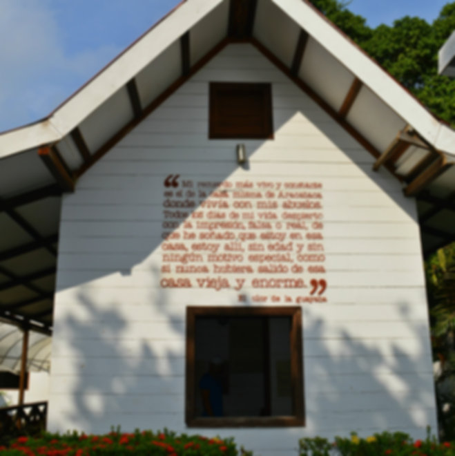 Casa Museo Gabriel García Márquez en Aracataca, Magdalena