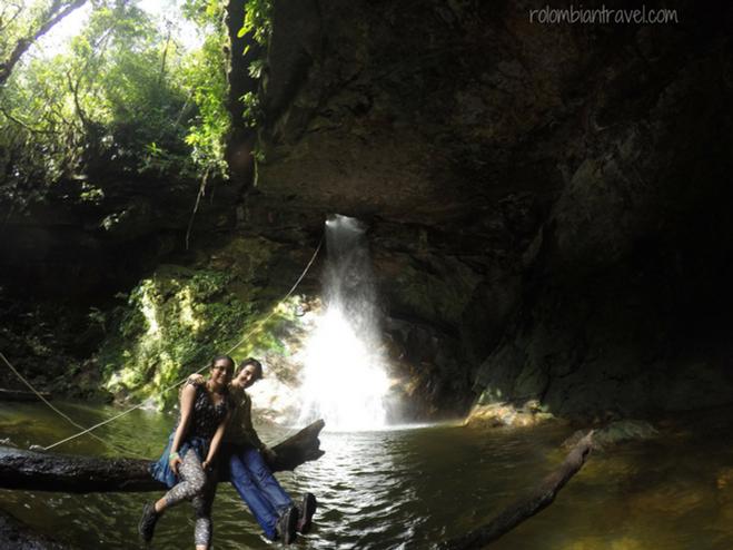 Cascada Ojo de Dios, Putumayo