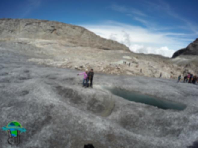 Nevado de Santa Isabel en Parque Nacional Natural Los Nevados