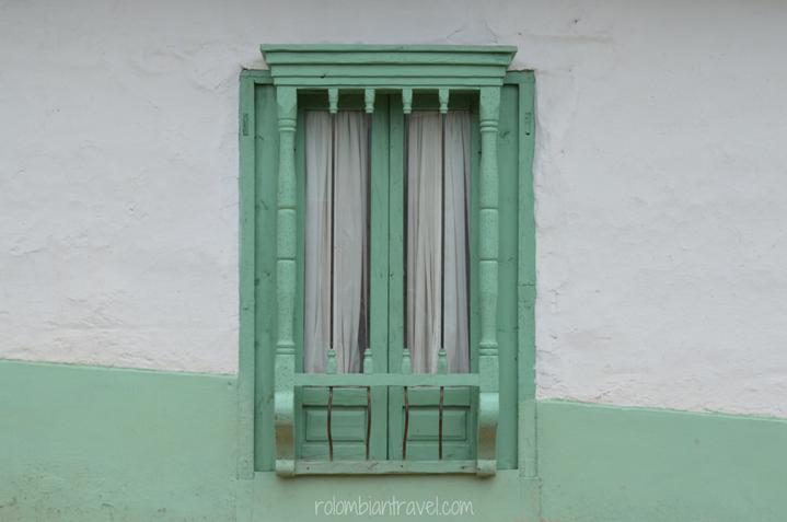 Fachadas en El Cocuy (Boyacá)