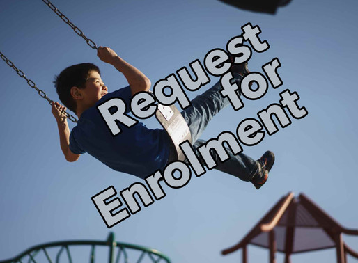 Request Enrolment for the 2020-2021 School Year here