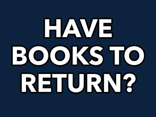 Information for Returning Books