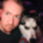 Eyebrows selfie with dog.jpg