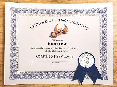 Printed Certificate