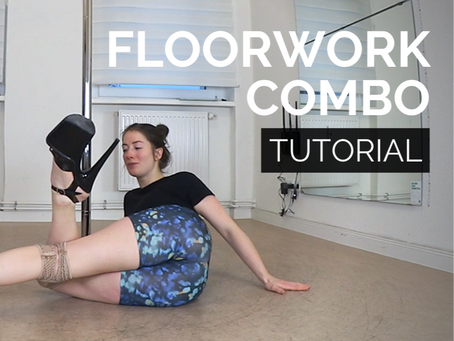 Learn a beginner friendly and flowy exotic floorwork combination in high heels!