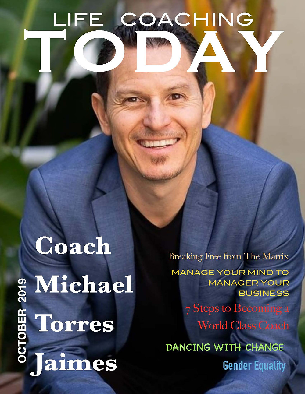 Life Coaching Today Cover, Magazine, Life Coach